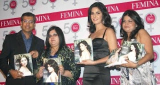 Katrina Kaif Unveils Femina 50 most beautiful Women Pics
