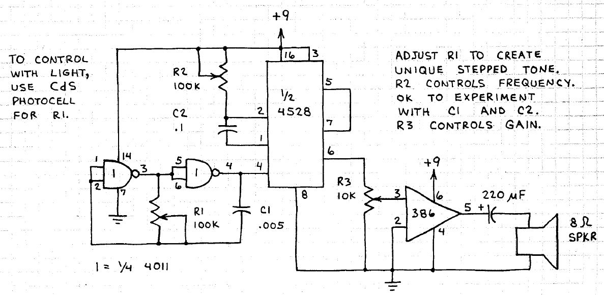 Electronic Circuits For Beginners  Tone Generator