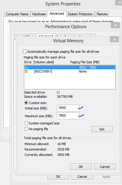 Windows 8 disk usage at 100 percent Problem
