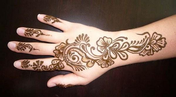 Mehndi Bridal Back Side : Mehndi designs for back hand side naina jee bridal