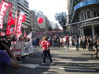 Manifestación de la huelga general del 29-M en Vigo