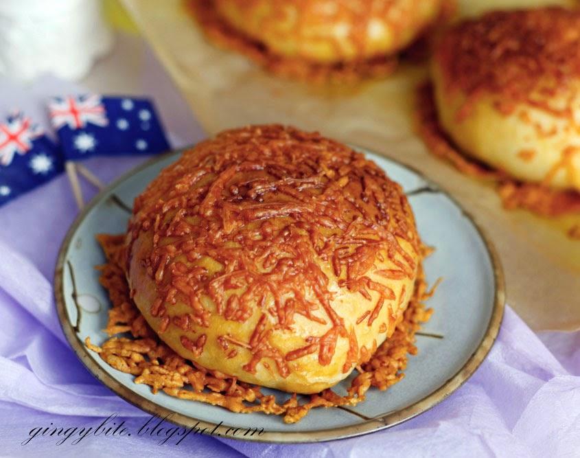 Crispy Double Cheese Bun 双重芝士面包