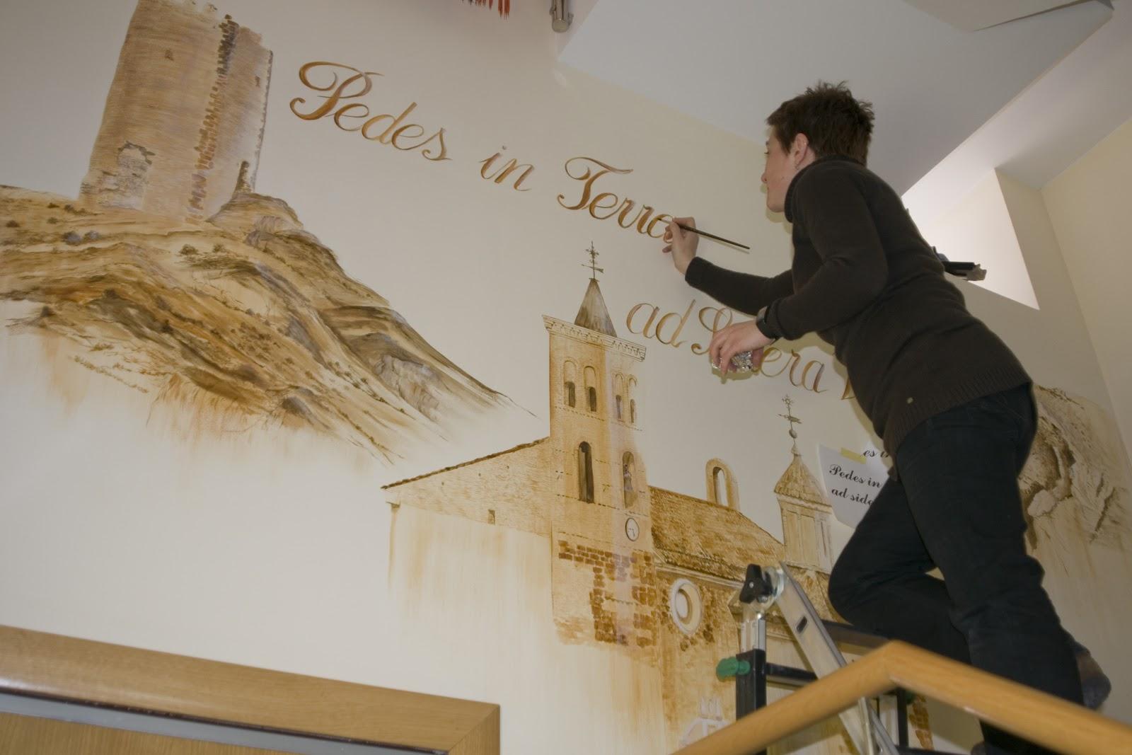 Murales decorativos febrero 2013 - Murales pintados a mano ...