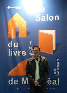 Alessandro Cassa au Salon du livre de Montréal 2015
