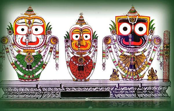 Baladeva - Subhadra - Jagannatha