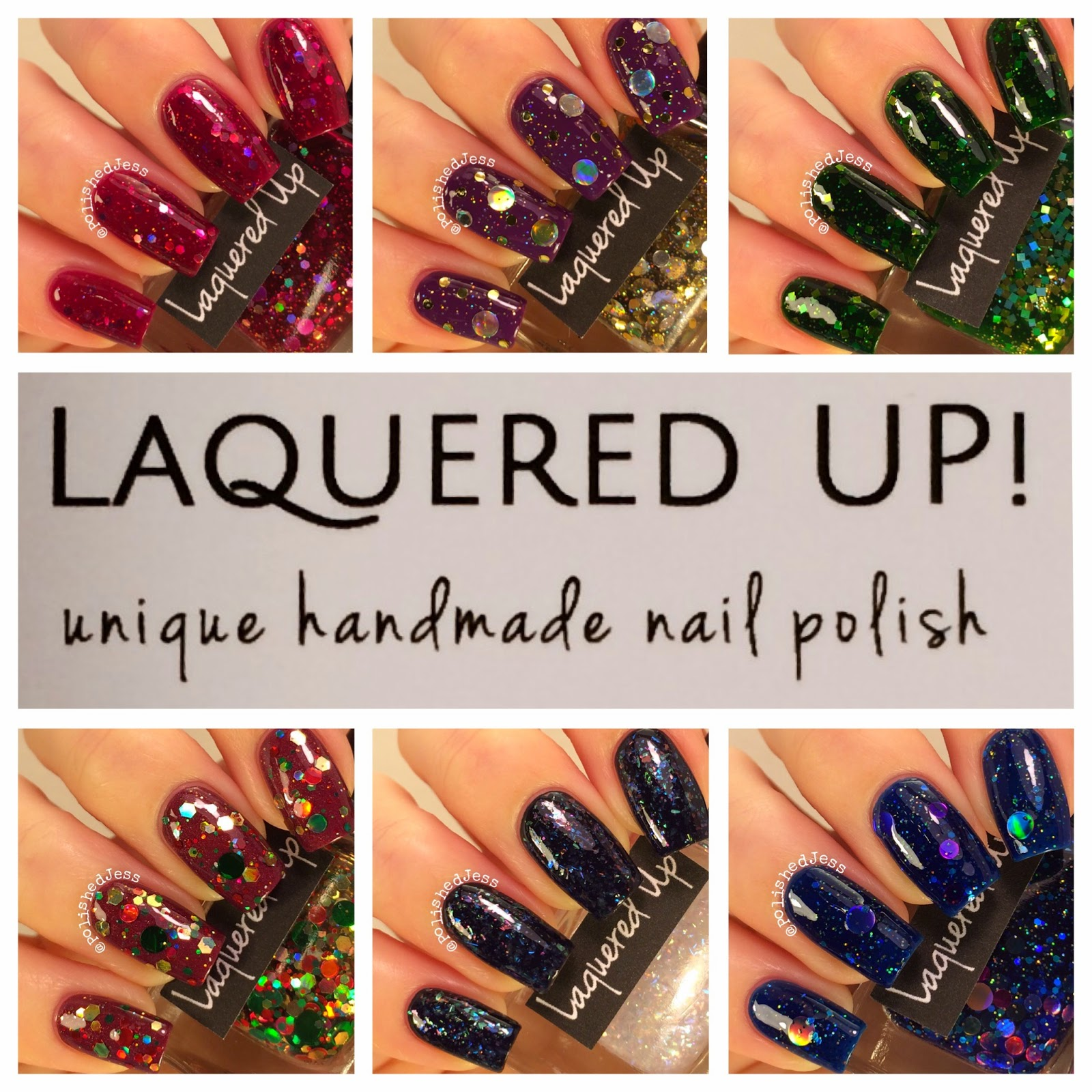 Polished Jess : Lacquered Up! - New Releases