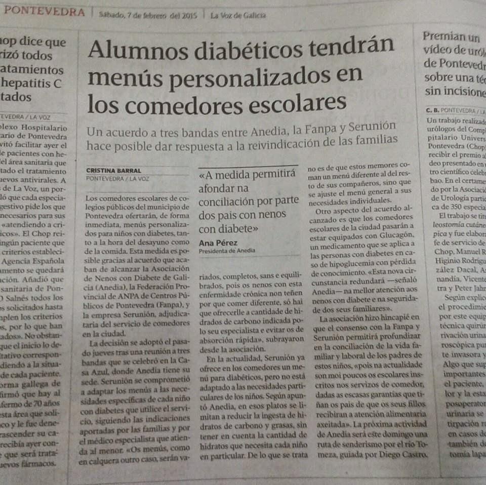 ANEDIA: Os comedores de Pontevedra Serunion