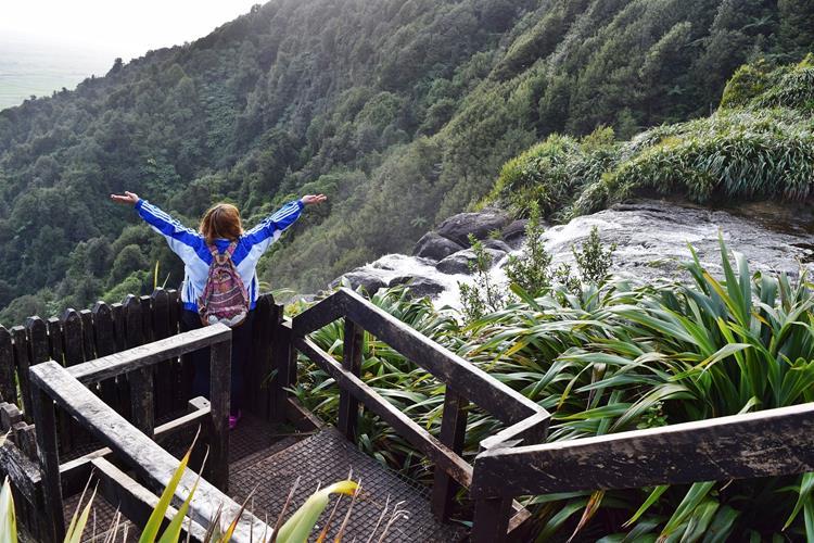 Travel Diary : My Birthday Roadtrip 2015 (Matamata, New Zealand) - Wairere Falls