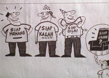 Ramai Calon Pemilu Indonesia Sakit Jiwa