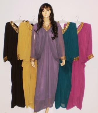 Grosir Baju Muslim Murah Online Tanah Abang Gamis Pesta Gp024