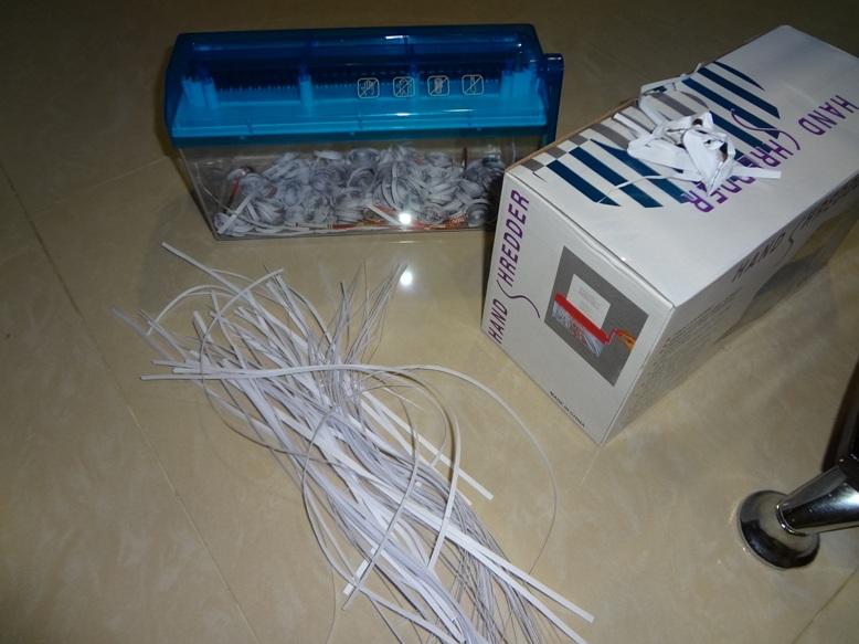 Paper Shredder For Quilling The Mini Paper Shredder