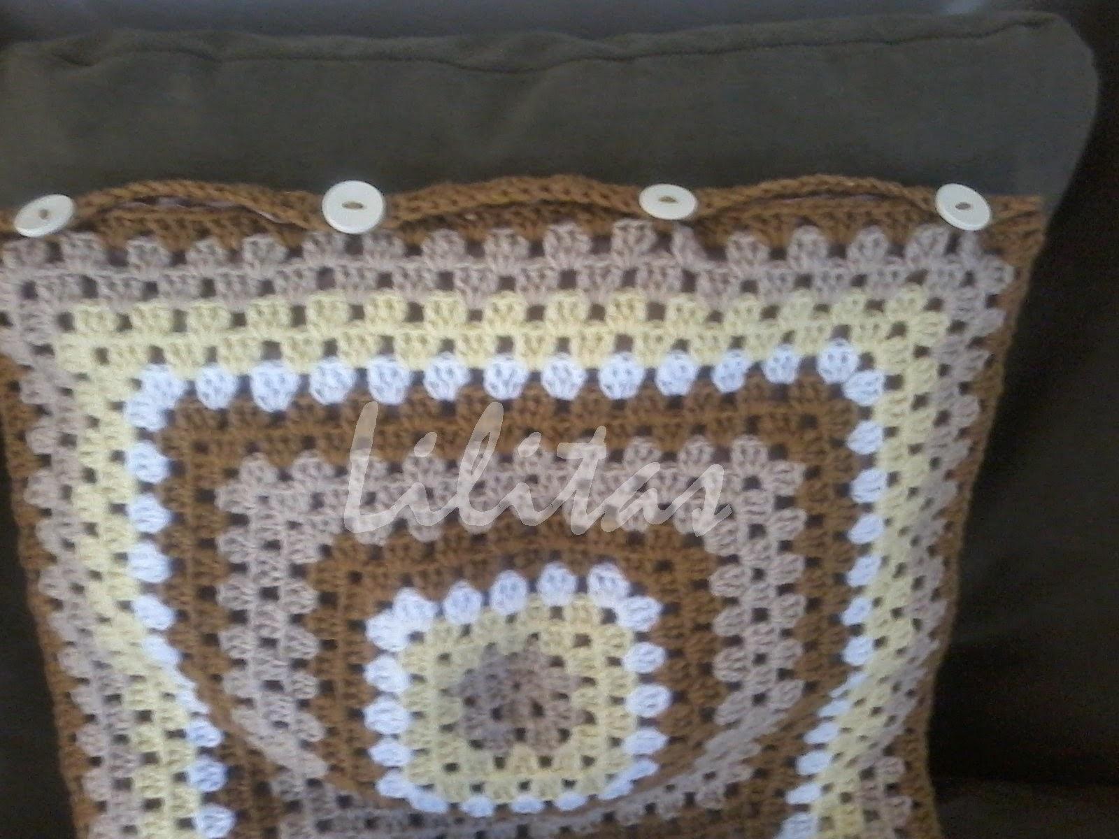 Mis cositas hechas a crochet by Lilitas: Fundas para cojín a