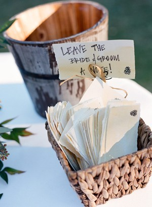 Rustic Country Wedding Ideas Creative Guest Sign In Ideas
