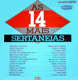 As 14 Mais Sertanejas - 1987