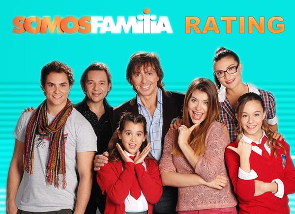 """El Rating de """"Somos Familia"""" (14.0)"""