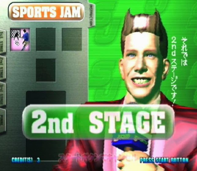 Sports Jam Presenter