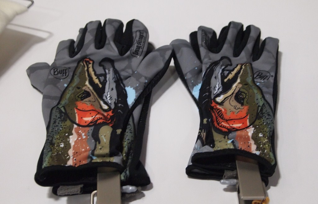 Troutrageous storms 2012 outdoor retailer summer market for Buff fishing gloves