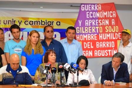 """Sol Rojas: """"Mi hijo está preso por el delito de elevar su voz"""""""