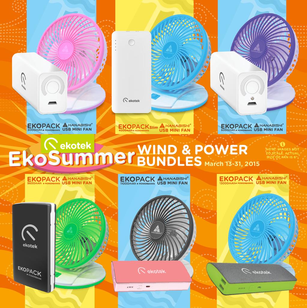 EkoSummer Wind and Power Bundle