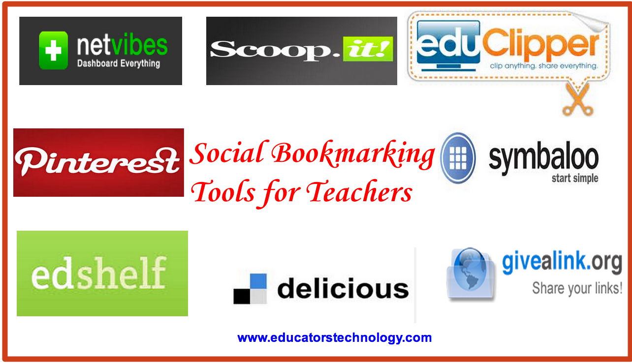 excellent social bookmarking tools for teachers educational below are some of the best social bookmarking websites i would recommend to teachers and students have a look and let us know what you think of them on our