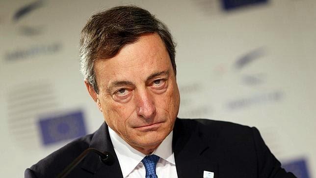 Mario Draghi frente a los resultados de Stress a la banca española