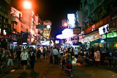 Vida nocturna en Bangkok - que visitar