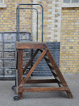 antique mill ladder