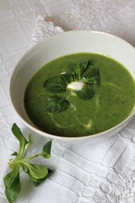 Zupa z roszponki
