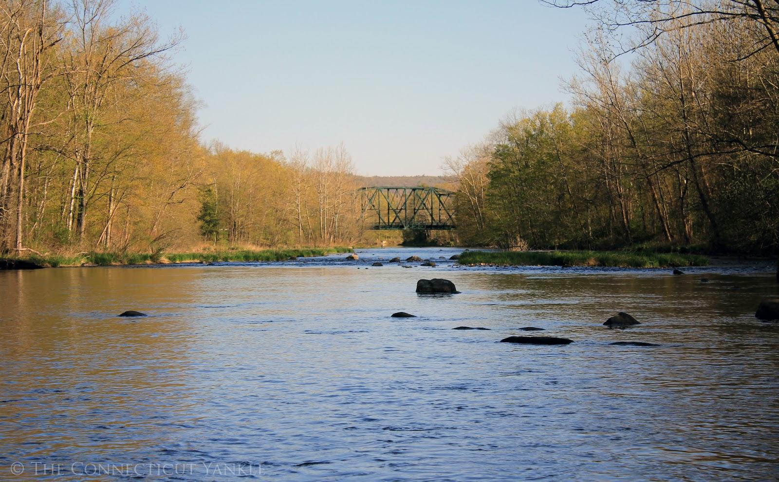 The connecticut yankee spring on the farm for Farmington river fishing