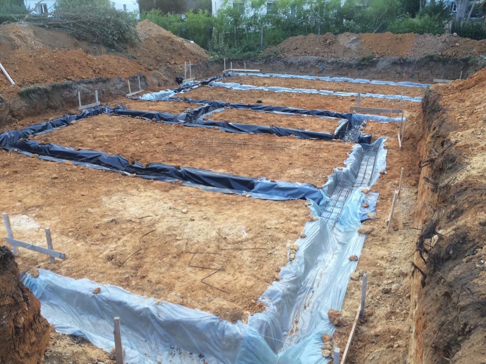Les guigniers fouilles des semelles de fondation et for Le ferraillage des fondations