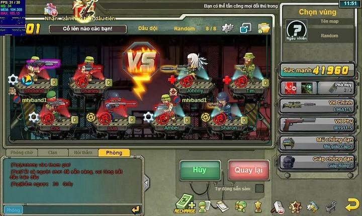Trải nghiệm game hay Rambo Lùn trên kho game Zing Appstore ngay bạn nhé!