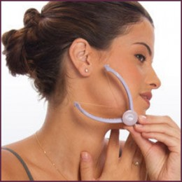 Hair removal for chin hair for females