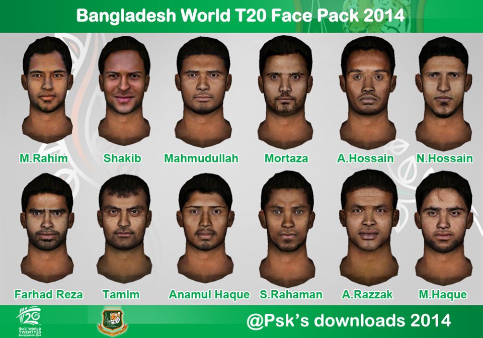bangladesh facepack for ea cricket 07