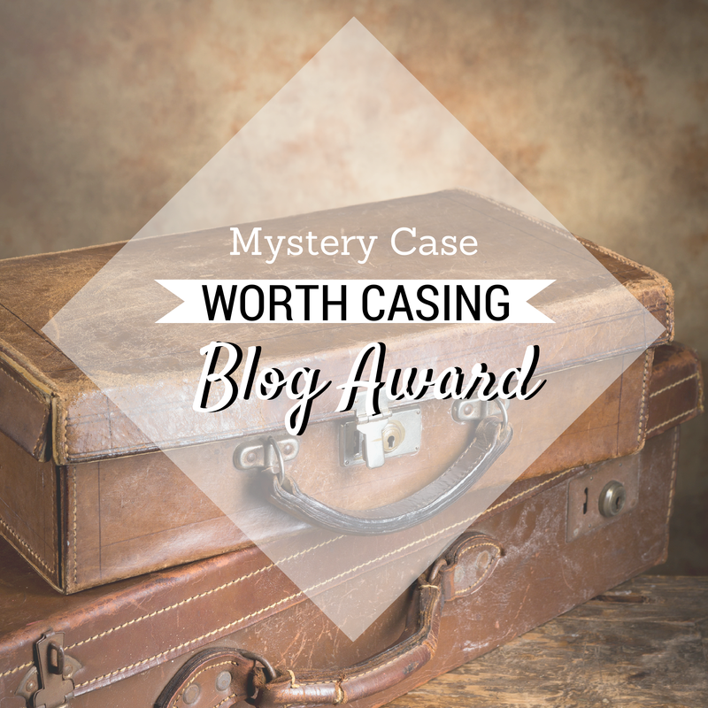 Mystery Case Worth Casing Blog Awards Blog Button Grab the code