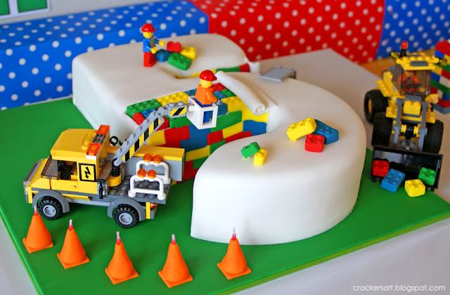Karas Party Ideas Lego Themed Th Birthday Party Planning Ideas - 5th birthday cake boy