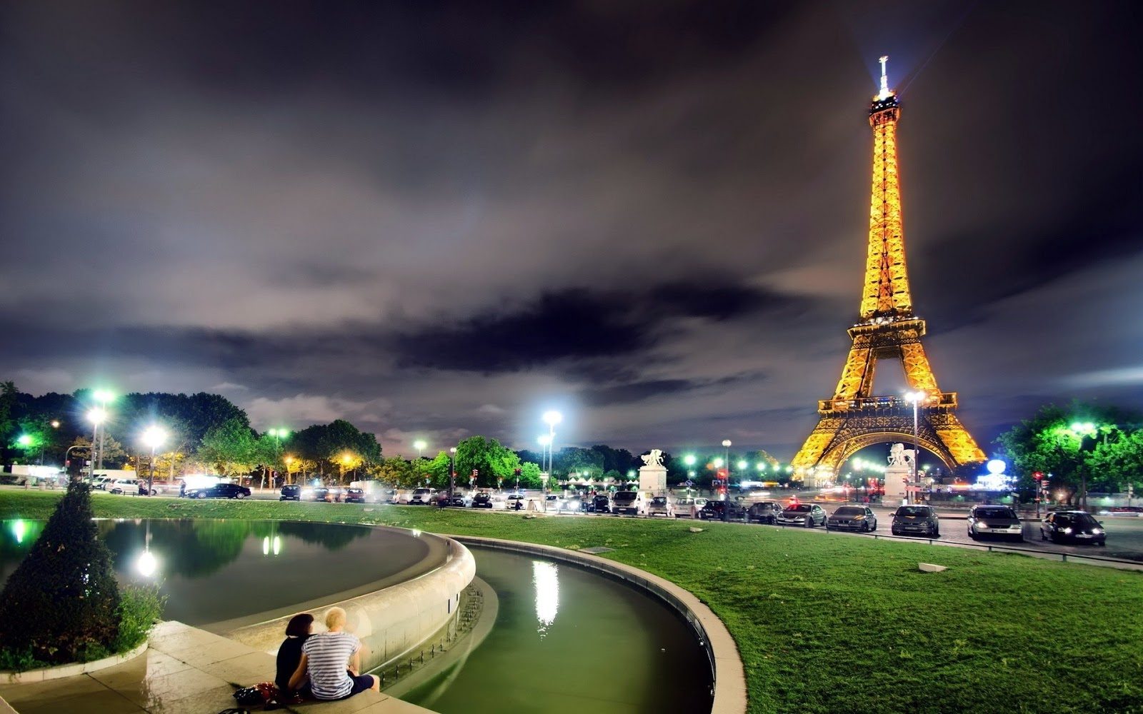 Paris paris eiffel tower wallpaper for Parigi wallpaper