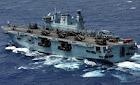 HMS Oceans L 12 Christmas 2011