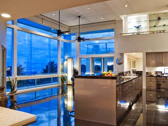 Casas minimalistas y modernas mansion moderna en salt for Casa minimalista vidriada