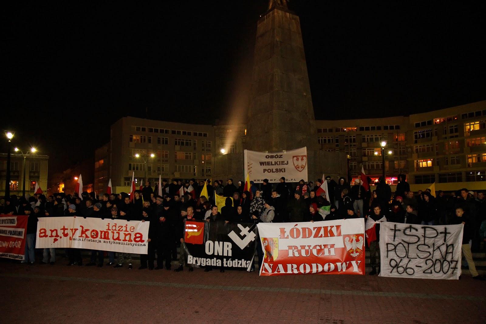11.12.2011 Manifestacja Antykomunistyczna Łódź