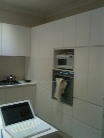 White Modular Kitchen Design Project by Kitchens in Focus Sydney Australia 001