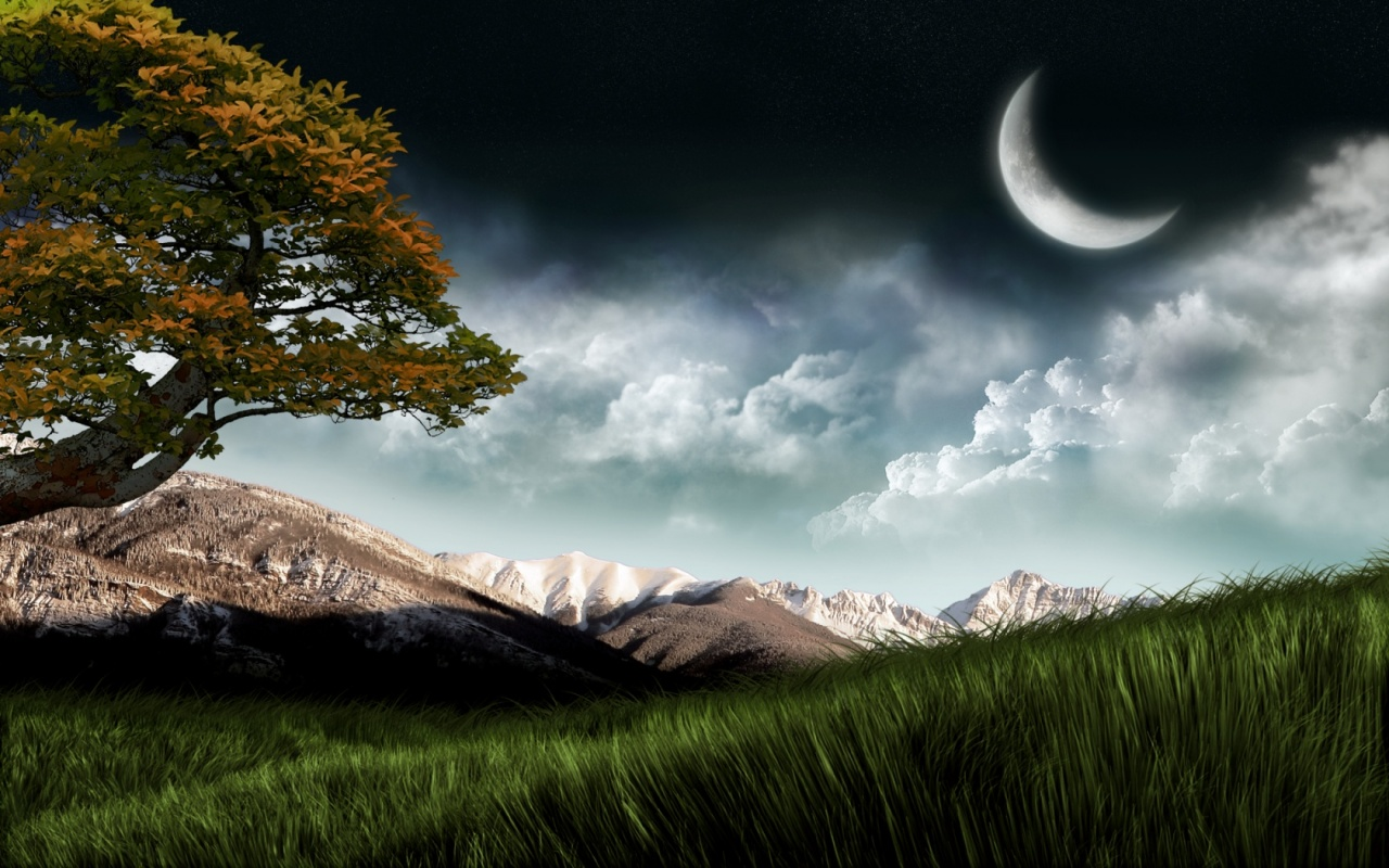 New Hd Wallpapers Images Beautiful Good Night Nature Wallpaper