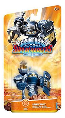 TOYS : JUGUETES - Skylanders SuperChargers    High Volt | Figura - Muñeco Producto Oficial | Videojuego | Activicion 2015 | A partir de 6 años  Comprar en Amazon España & buy Amazon USA