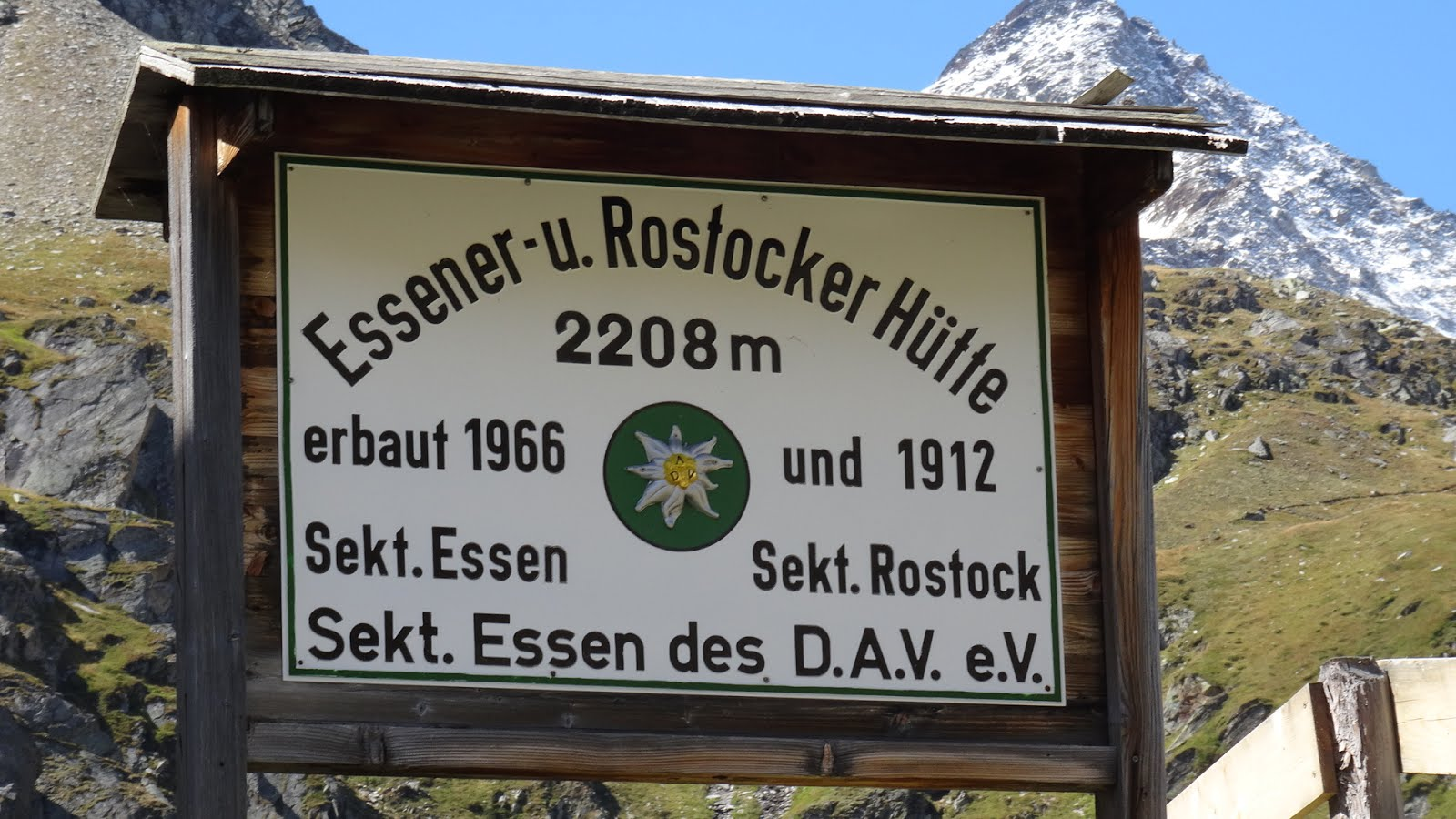 Essener-Rostocker hutte
