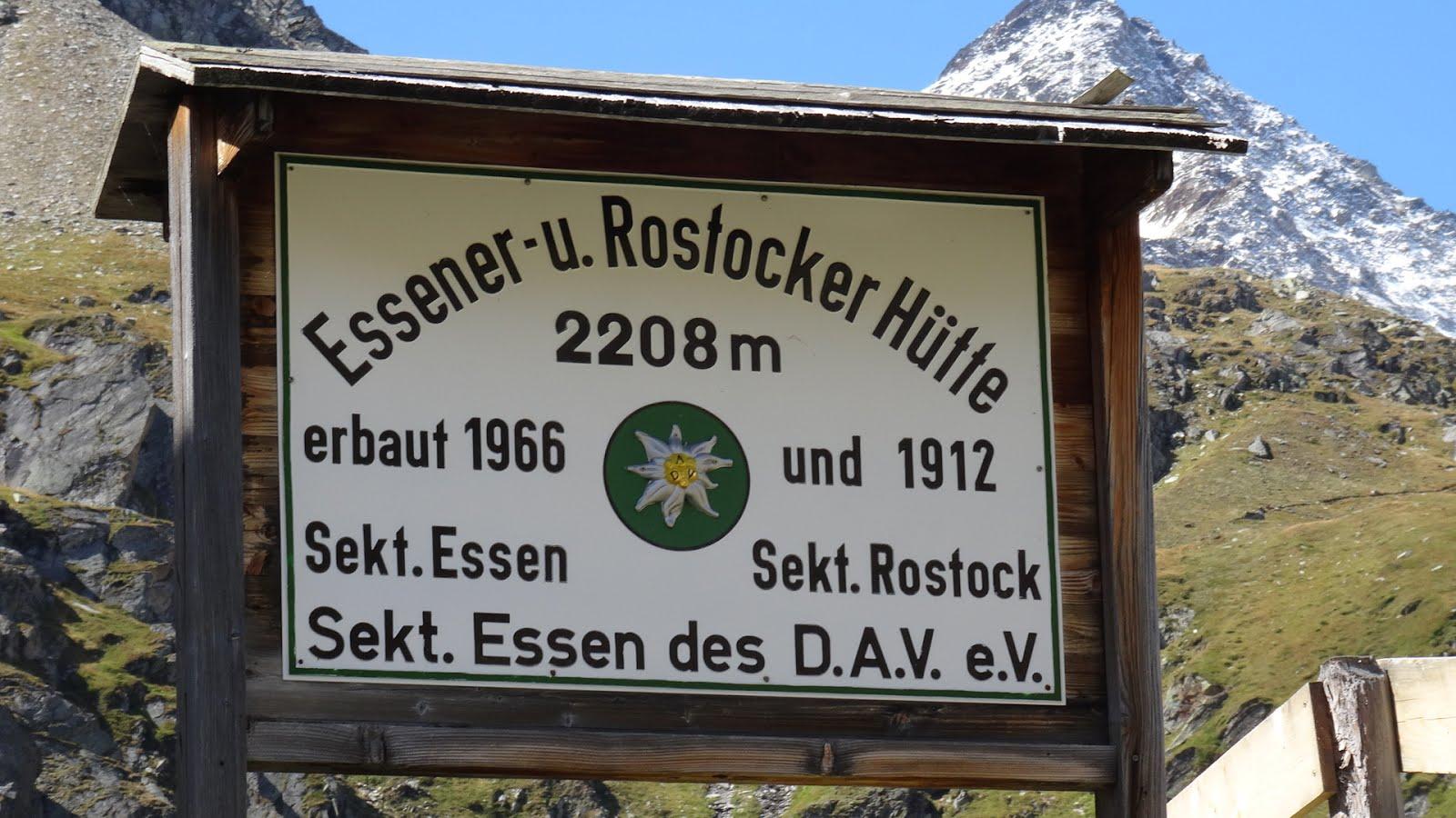 Essener-Rostocker hutte