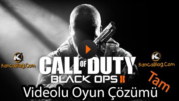 Black Ops 2 Tam Oyun Çözümü
