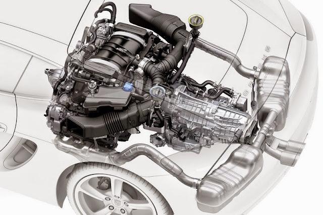2016 porsche boxster spyder engine