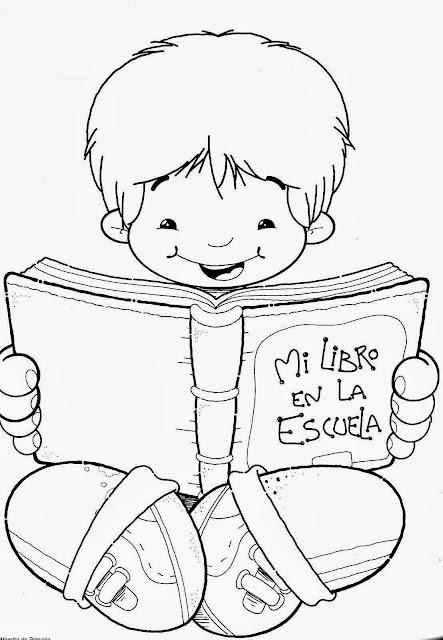 Dia do Livro Infantil desenho para colorir