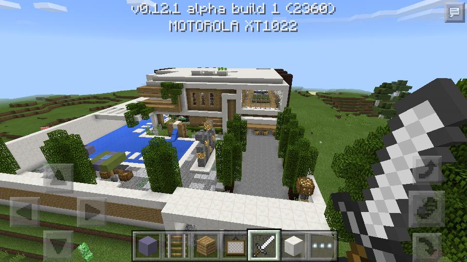 Mapa casa moderna equipe mcpe for Casa moderna minecraft xbox 360