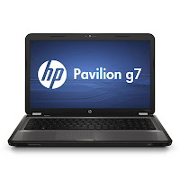 HP Pavilion g7-1200 laptop