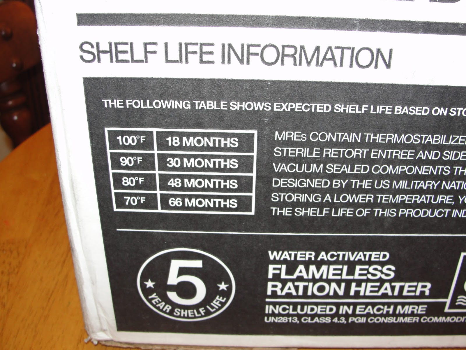 meal mres panel fresh product us canada life kit shelf meals case site ready mks supply mre to account my side eat pack factory